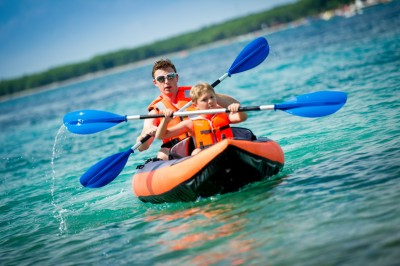 Water Sports to Do While Camping at RV park Sioux Falls SD